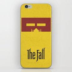 The Fall - Minimal Poster iPhone & iPod Skin