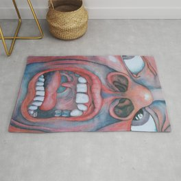 In the Court of the Crimson King Rug