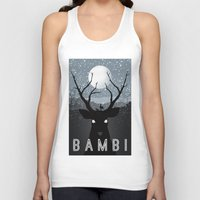 infamous Tank Tops featuring Bambi by Rowan Stocks-Moore