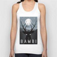 bambi Tank Tops featuring Bambi by Rowan Stocks-Moore