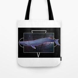 Space rorqual Tote Bag