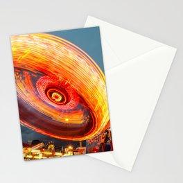 Amusement Park Ride Long Exposure Stationery Cards