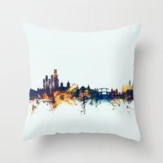 Amsterdam The Netherlands Skyline Throw Pillow