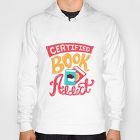 tfios Hoodies featuring Certified Book Addict by Risa Rodil