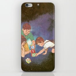 Space Play iPhone Skin