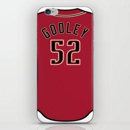 Zack Godley Jersey iPhone Skin