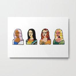 Giocondas - Mona Lisa Metal Print