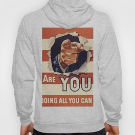 Are You Doing All You Can? Hoody