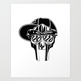 Chillin Villain 2 Art Print