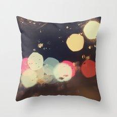 Bokehland Throw Pillow