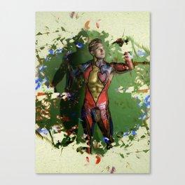 Mr. Apologetico Canvas Print