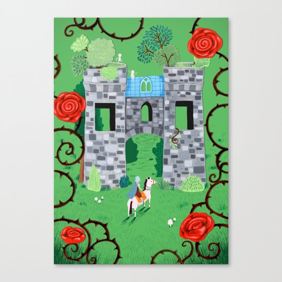 Gatehouse Canvas Print