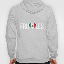 I Love Frijoles Beans In Spanish Funny Food  Hoody