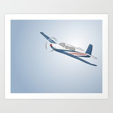 Child's Airplane Art Print