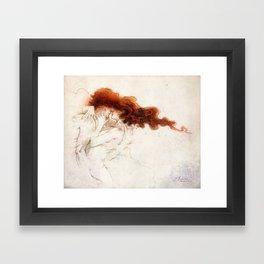 Fire&Gasoline Framed Art Print