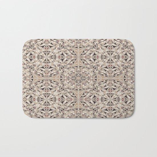 Cappuccino pattern Bath Mat