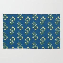 Floral pattern #1 Rug