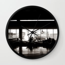 WINDOW TO THE WORLD Wall Clock