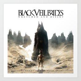 Black Veil BVB Art Print