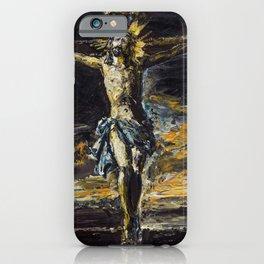 Santo Cristo de La Agonía. Limpias. Cantabria iPhone Case