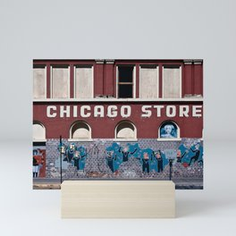 Chicago Music Store In Downtown Tucson Mini Art Print