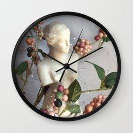 Venus di Milo with Berries Wall Clock