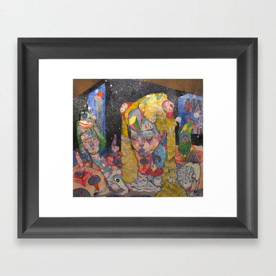 6am Framed Art Print