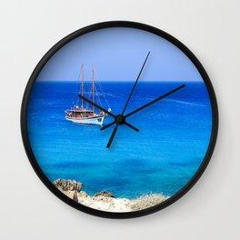 Cavo Greco I  Wall Clock