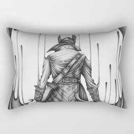 Bloodborne Rectangular Pillow