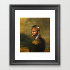 Mr. T - replaceface Framed Art Print