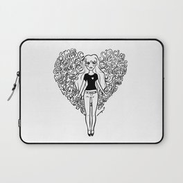 Self Acceptance (B&W) Laptop Sleeve