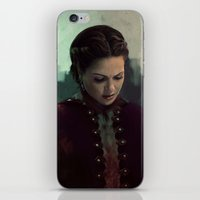 regina mills iPhone & iPod Skins featuring Young Regina by LindaMarieAnson