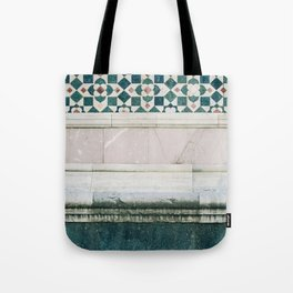Il Duomo Marble Pattern - Florence Italy Architecture, Travel Photography Tote Bag