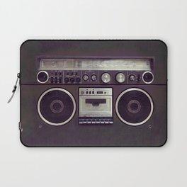 Retro Boombox Laptop Sleeve