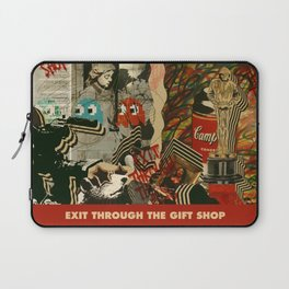 Exit Through The Gift Shop - Banksy Laptop Sleeve
