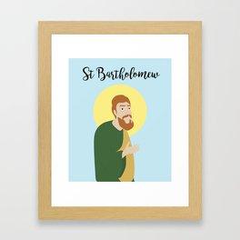 Saint BartholomewThe Apostle Framed Art Print