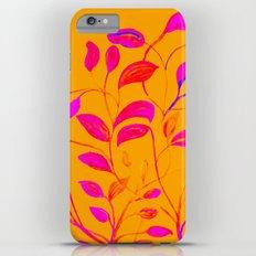 Peaches and Cream Red Leaves Slim Case iPhone 6 Plus