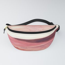 Abstract Love, Peace and Hope, Contemporary Fine Art Fanny Pack