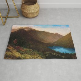 Mount Lafayette - Franconia Notch, New Hampshire by Thomas Hill Rug