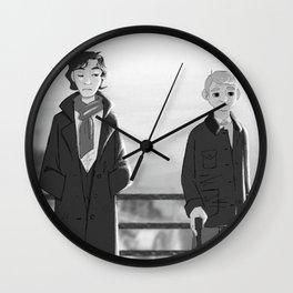 sherlock paperman Wall Clock