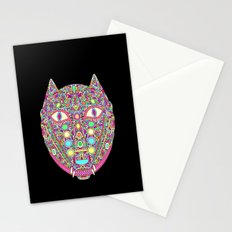Demonic Dog Wolf Fox  Stationery Cards
