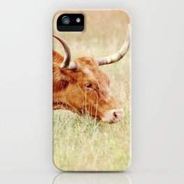 Long Horn iPhone Case
