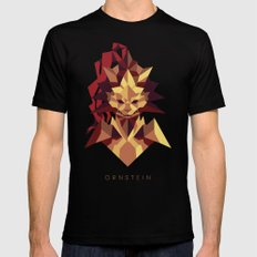 Ornstein the Dragonslayer - Dark Souls MEDIUM Black Mens Fitted Tee