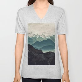 Shades of Mountain Unisex V-Neck