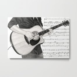 A Few Chords Metal Print
