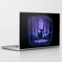 elf Laptop & iPad Skins featuring Elf Forest by Sachpica