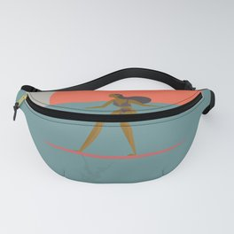 Surfing Girl-Summer Time Fanny Pack