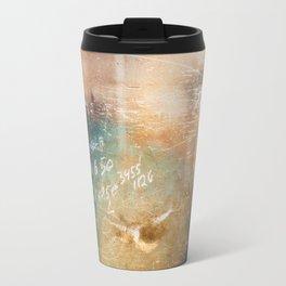 Shabby Wall Travel Mug