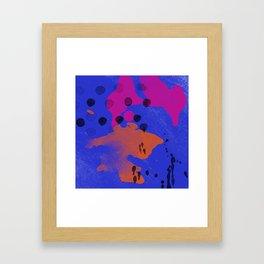 Humid Passion Framed Art Print