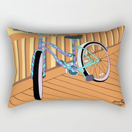 Beach-Cruisin' Rectangular Pillow